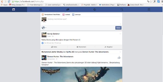 Cara Menghemat Kouta Facebook
