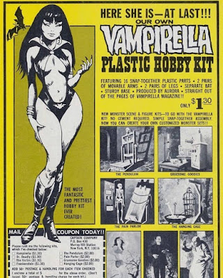 Vampirella Plastic Hobby Kit
