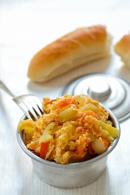 Bosnian Stir Fry (Egg Satarash)