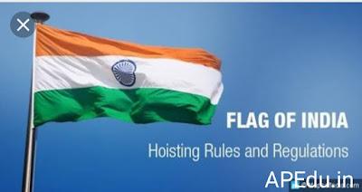 National flag general rules