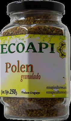 Polen en granulos ECOAPI ecoapicultores