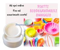 Logo Come ricevere in regalo 50 piatti da dessert biodegradabili (omaggio sicuro)