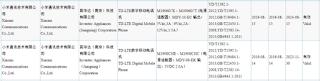 Borang otoritas sertifikasi di Tiongkok, yang dirumorkan adalah Redmi Note 8. (Gizmochina)