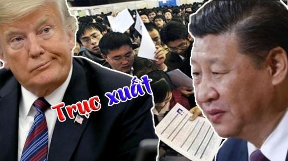Dạy dỗ Trung Quốc, Tổng thống Donald Trump quyết định chơi sát ván chứ không dọa
