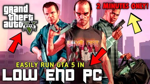How to Play/Run GTA 5 on Any PC in 2 Minutes [2GB/4GB RAM,No Graphics Card,Low End PC]