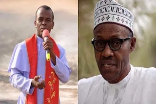Mbaka in war with buhari, says he took contractors to him for aproval.