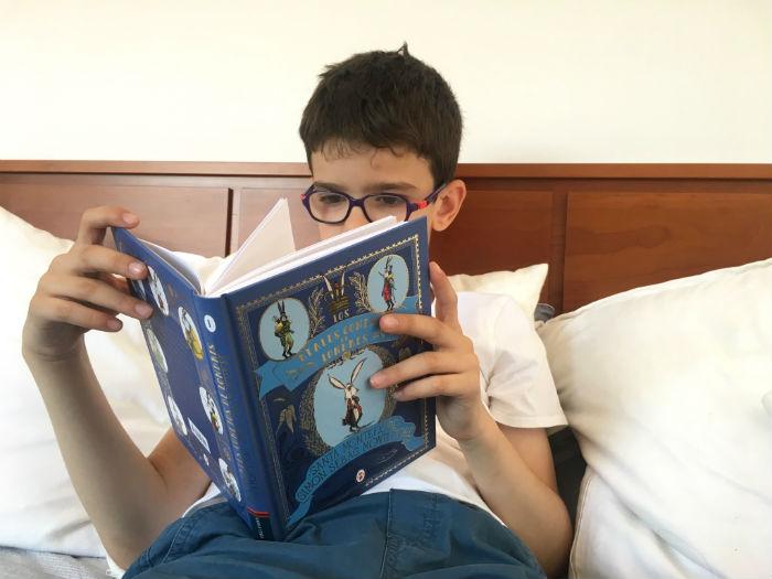 libro infantil edelvives Los reales conejos de Londres
