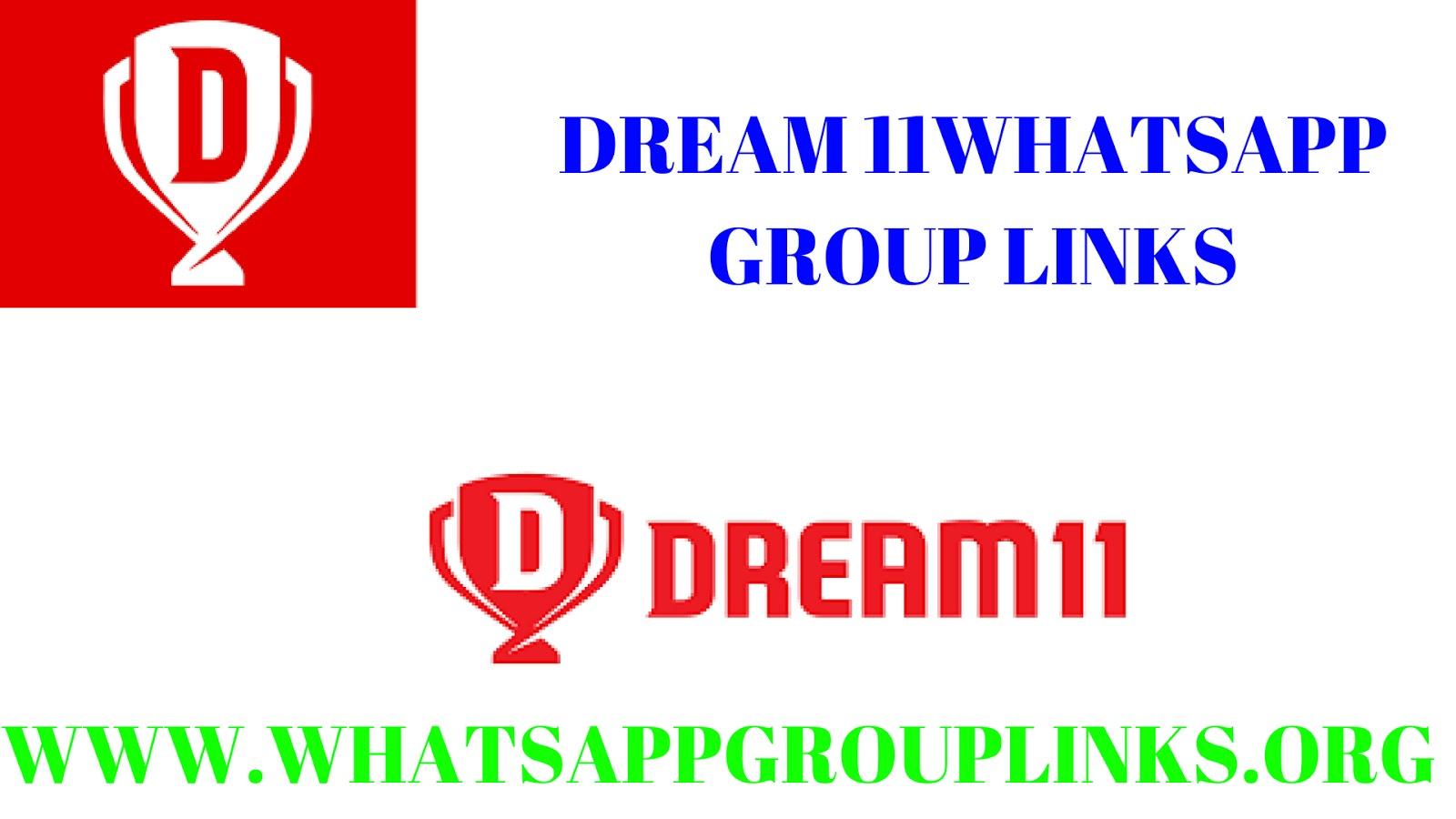 JOIN DREAM 11 WHATSAPP GROUP LINKS-WHATSAPP GROUP LINK - Whatsapp