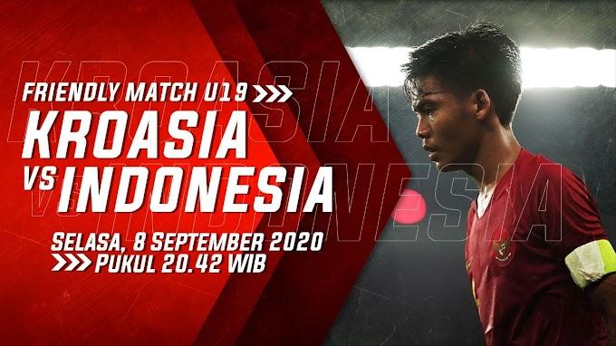 Prediksi Susunan Pemain Timnas Indonesia U-19 vs Kroasia