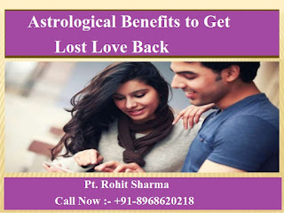 Can astrological benefits help you to get lost love back