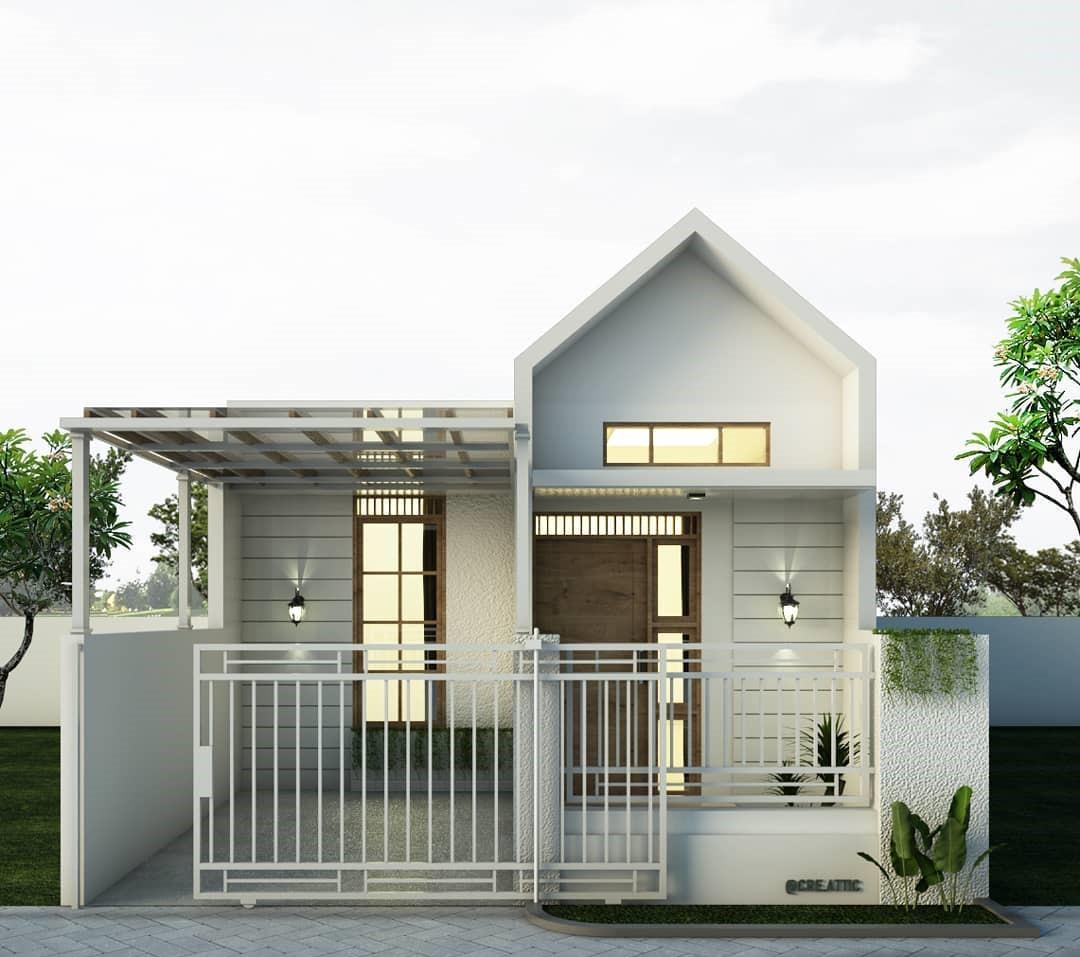 Kumpulan Gambar Rumah Minimalis Luas Tanah 60 M2 Desain Rumah