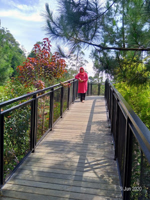 Sky Walk Taman Bougenville