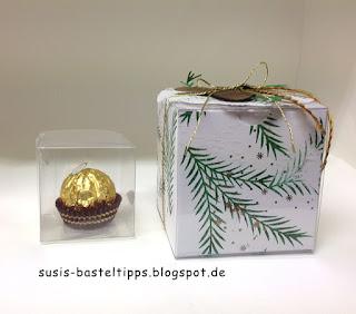 grössenvergleich-weisse-geschenkschachteln-stampin-up-mit-ferrero-rocher-und-transparenten-mini-geschenkschachteln