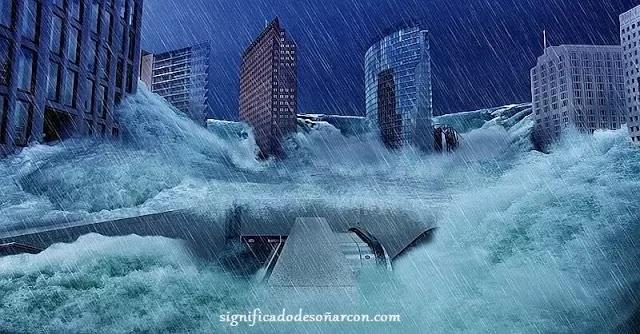 Significado de soñar con inundaciones