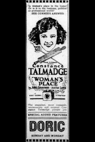 Woman's Place (1921)