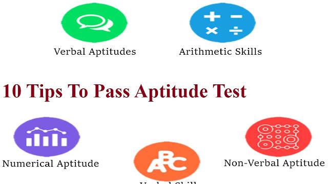 10 Tips To Pass Aptitude Test