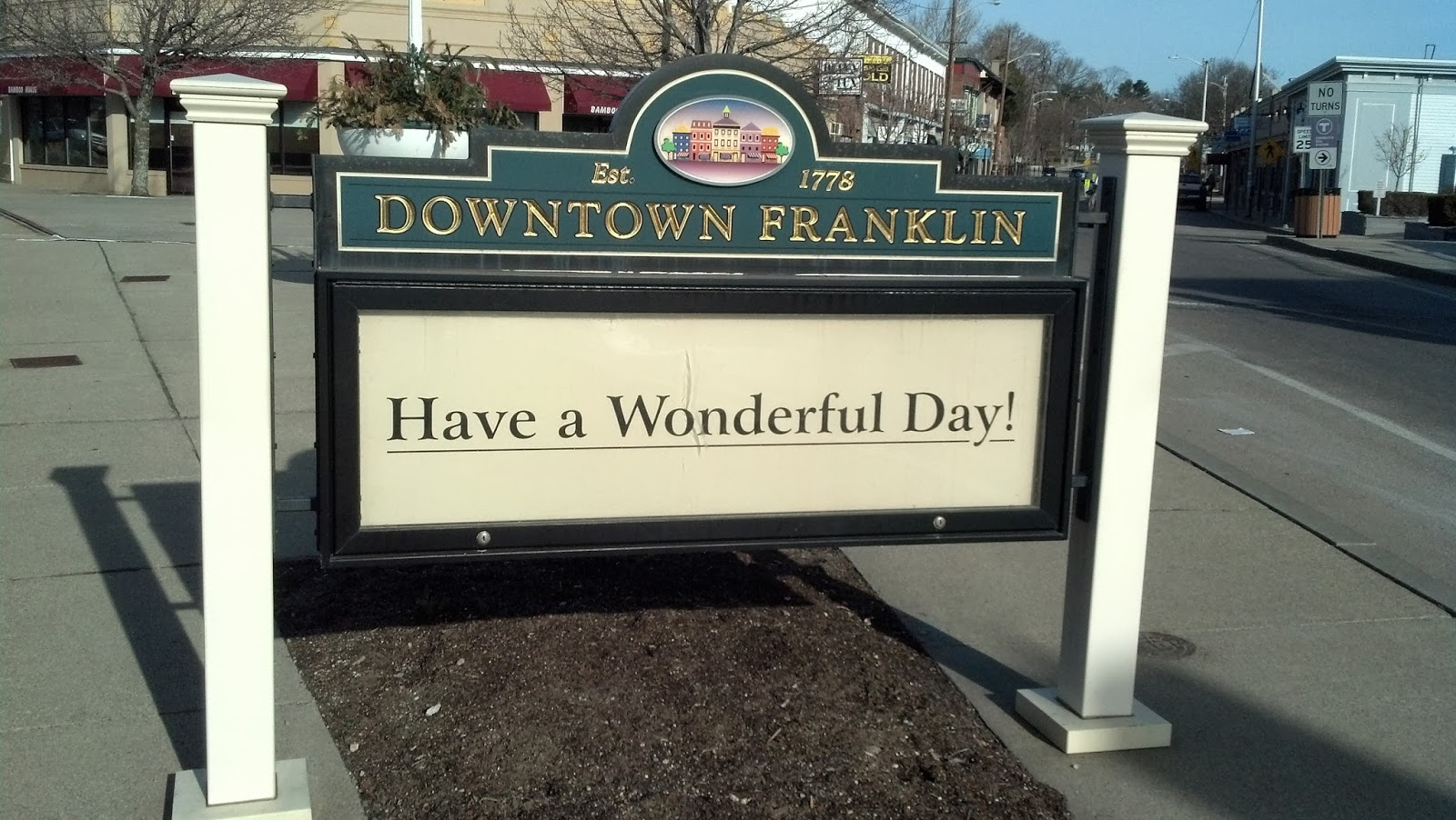 Downtown Franklin on a warmer day