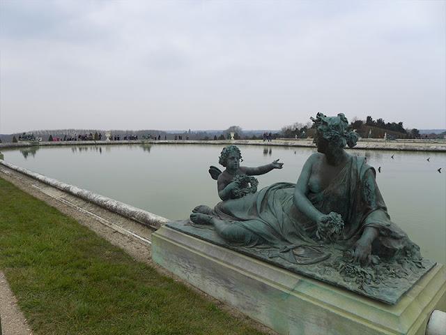 statue des grandes eaux à Versailles