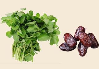 Watercress and Dates Recipe