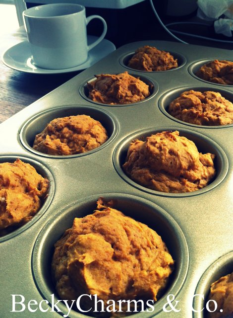pumpkin muffin cakes fall october halloween recipe