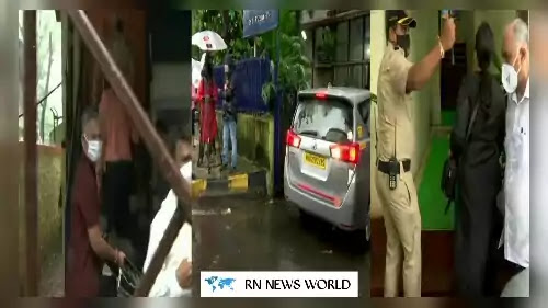 CBI-reached-at-Bandra-Police-station