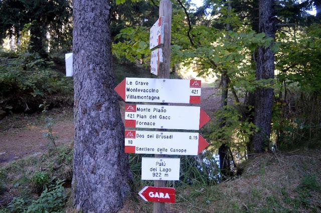 lago santa colomba sentiero delle canope