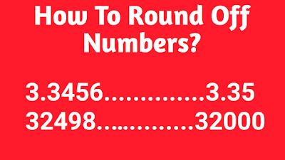 Round Off Rules for Numbers