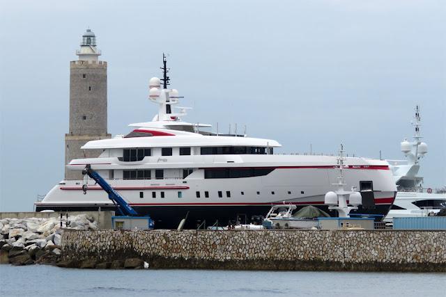 Superyacht Forever One, IMO 9658721, Livorno