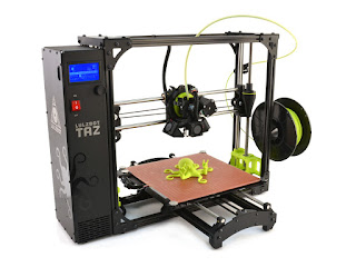 LULZBOT TAZ 6 3D Printer Review and Driver Download