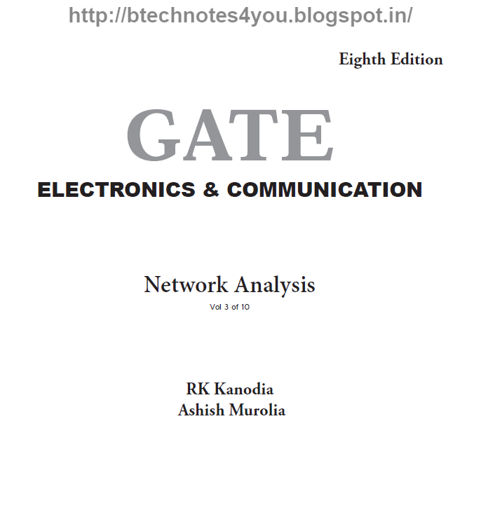 Gate Electrical Engineering By Rk Kanodia Pdf