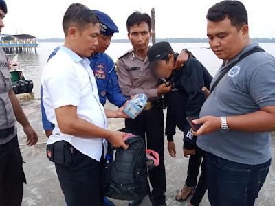 Tim Gabungan Polda Jambi Tangkap 1 Pelaku Pembawa Sabu di Kuala Tungkal