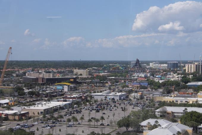 Orlando Eye maailmanpyörä, Florida näköala lasten kanssa