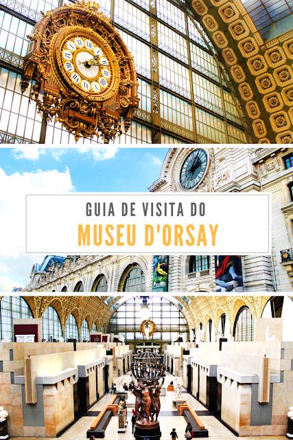 Guia de visita do Museu d'Orsay em Paris