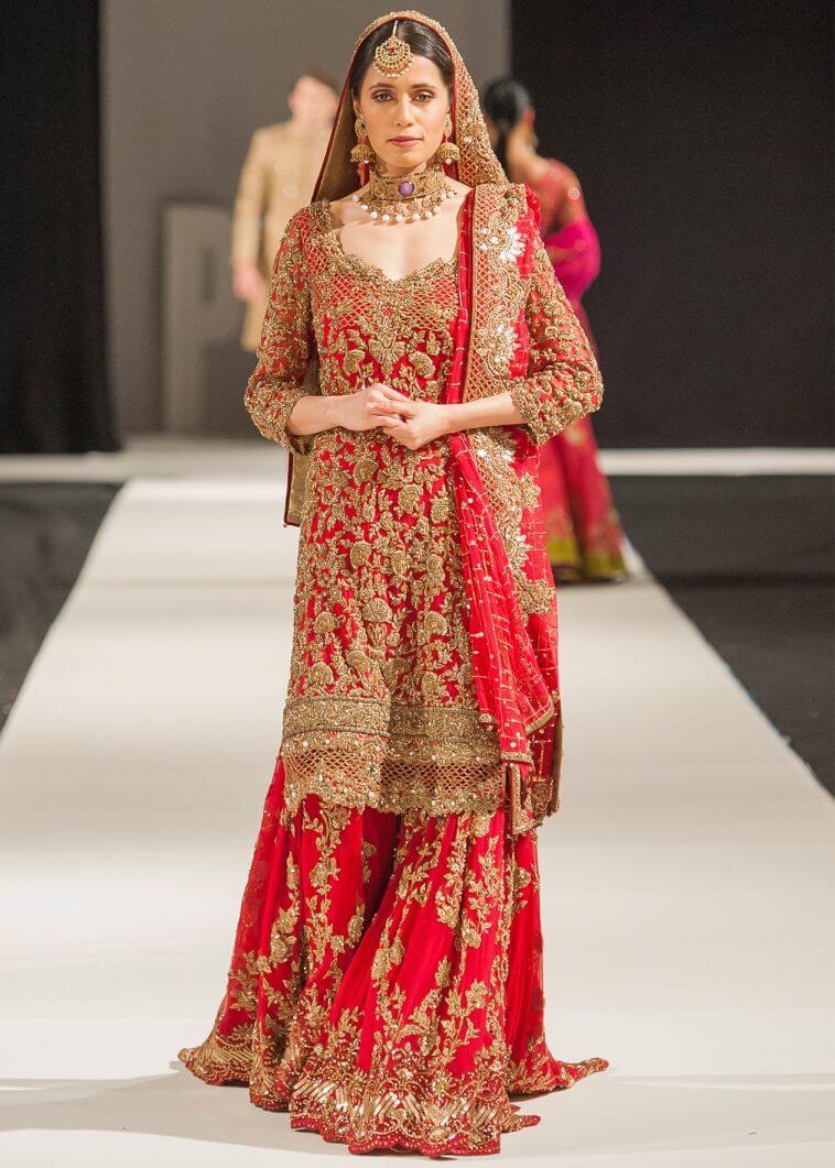 Latest Mohsin Naveed Ranjha Bridal Barat Dresses Collection