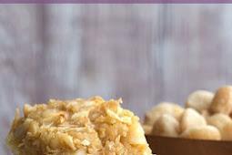 #TOPRECIPES Low Carb Coconut Macadamia Bars