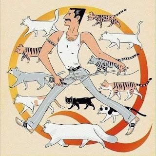 Freddie Mercury y los gatos