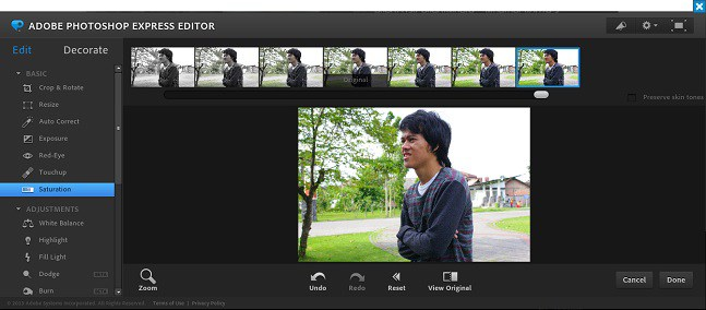 Cara menggunakan Photoshop online asli dari Adobe