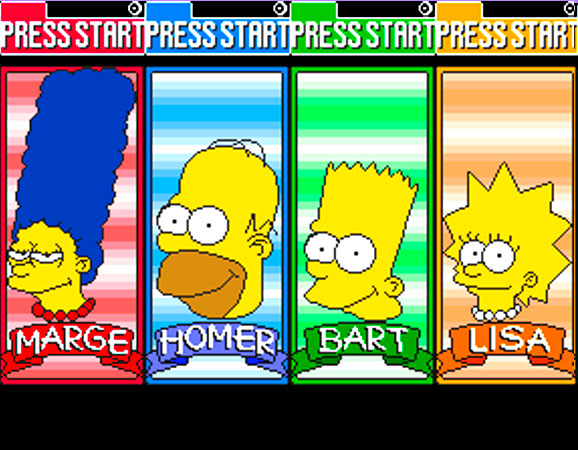 The Simpons Arcade Game 4