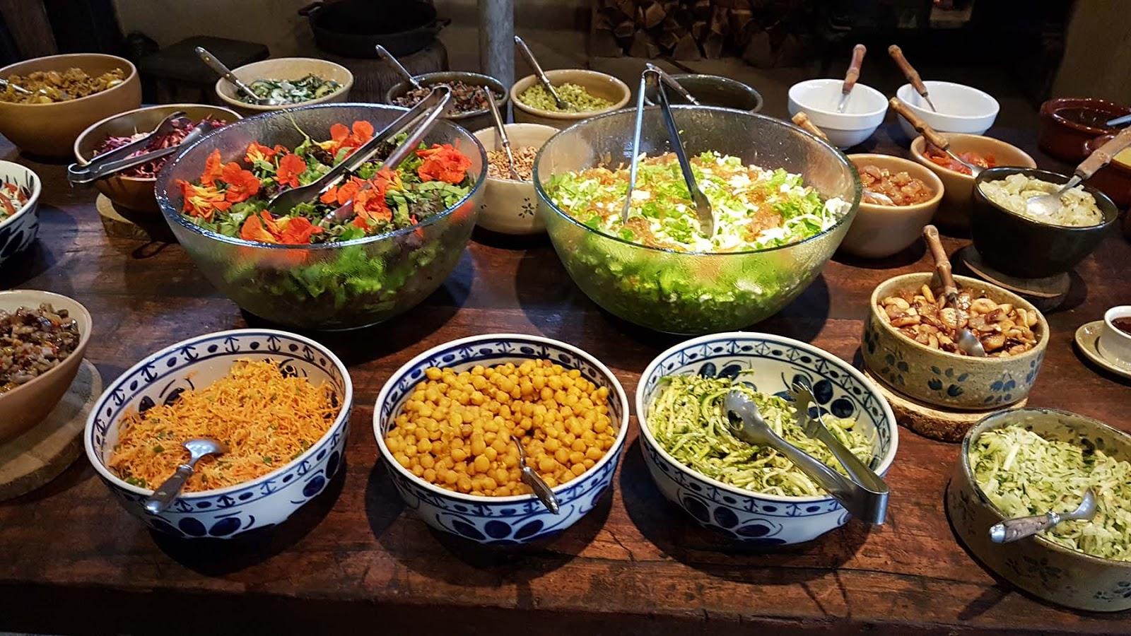 Restaurante Trilhas do Araçari em Mury.