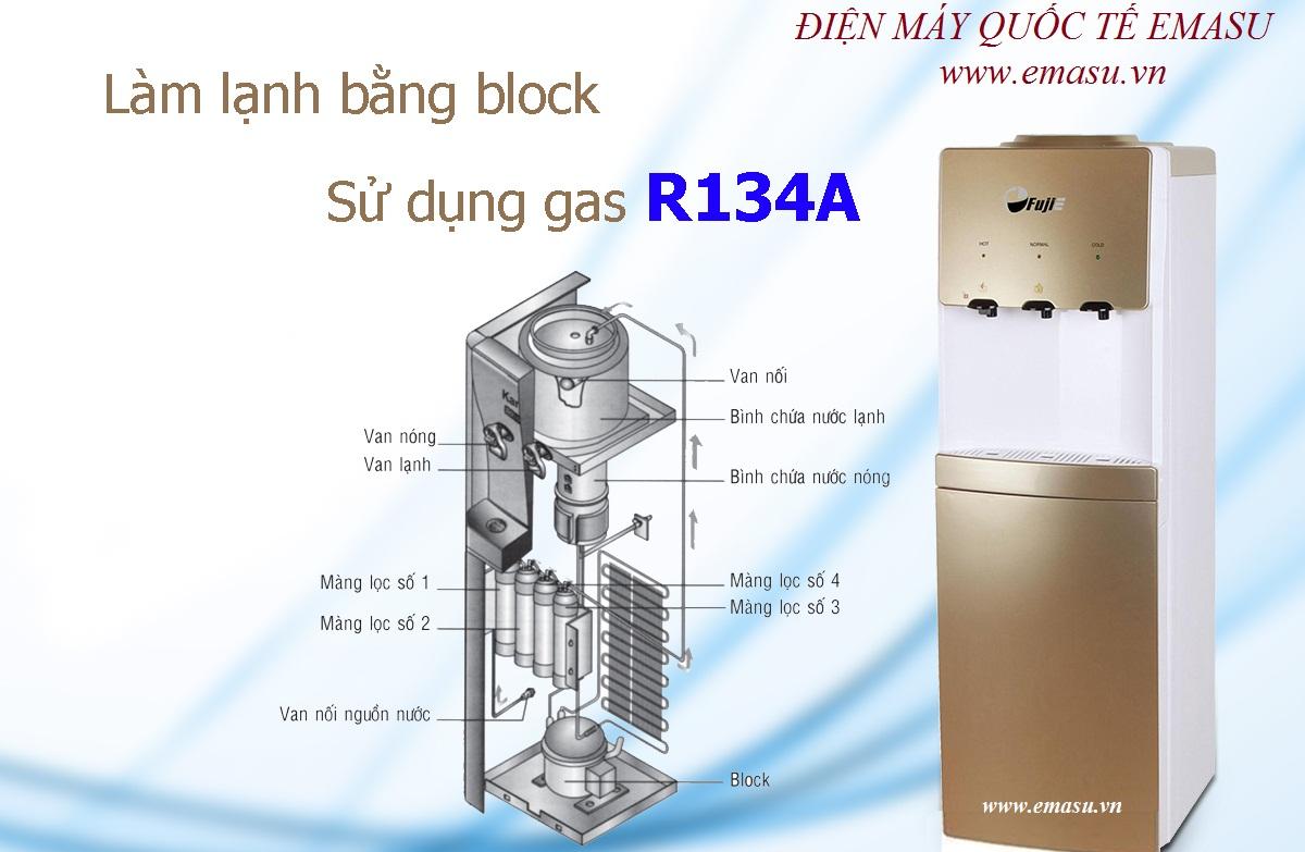 Cây nước nóng lạnh Fujie WDBD20C chính hãng, Siêu bền ✅ Làm lạnh cực sâu nhanh bằng Block ✅ Giá rẻ ✅ Dịch vụ tốt nhất