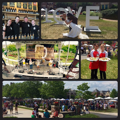 The inaugural Brambleton Brewfest in May 2015 was an exciting Ashburn event.