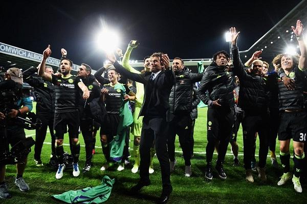 Chelsea Kampiun Premier League 2016/2017