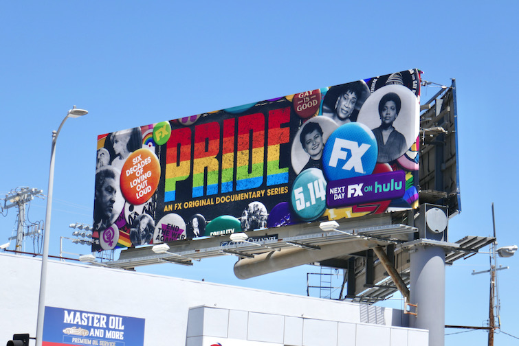 Pride FX docu-series billboard