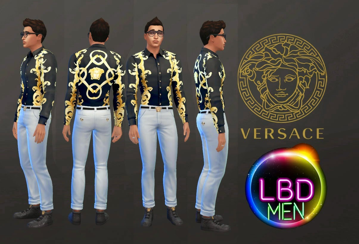 My Sims 4 Blog Versace Ss15 Collection For Males By Jeancr874