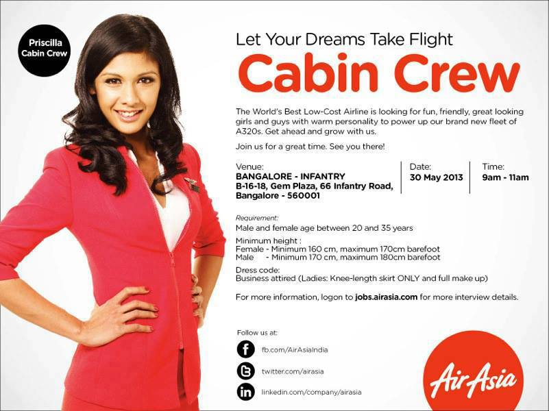 cabin crew recruitment - gulf jobs for malayalees