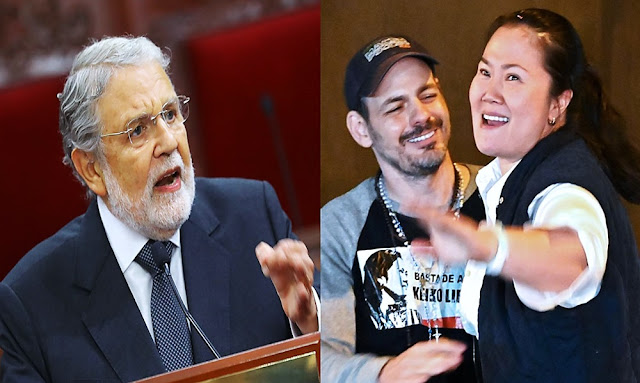 """Ernesto Blume sobre Keiko Fujimori: """"La sentencia es cosa juzgada, es inamovible"""""""