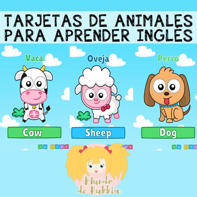 tarjetas-aprender-ingles-preescolar