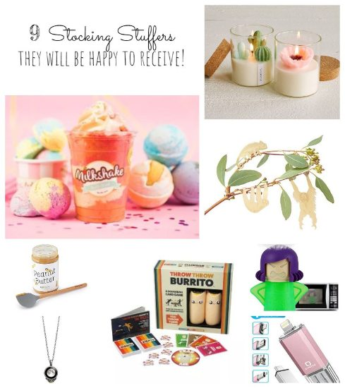 9 Stocking Stuffers They Will LOVE to Receive!