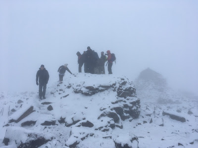 Ben Nevis summit on the 21st June 2019