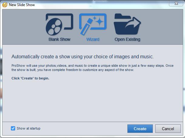 Cách sử dụng Proshow Gold 9 trên máy tính windows để làm video từ ảnh, nhạc b